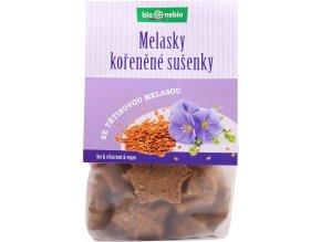 Bio Melasky - celozrnné sušenky 130g
