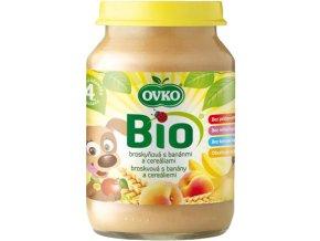 Bio Dětská výživa s banány a cereáliemi OVKO 190g