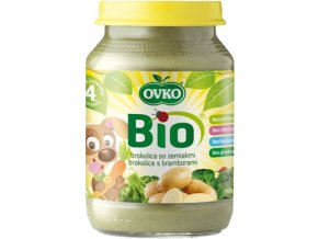Bio Dětská výživa brokolice s bramborami OVKO 190g
