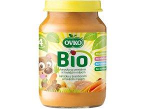 Bio Dětská výživa s bramborem a hovězím masem OVKO 190g