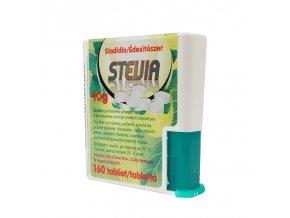 Stolní sladidlo na bázi isomaltu a steviol-glykosidů, dávkovač 160tbl