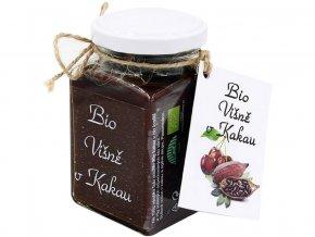 Bio pomazánka višně v kakau 275g