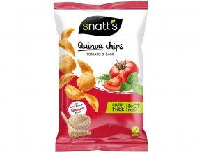 Quinoa chips tomato, bazalka 85g