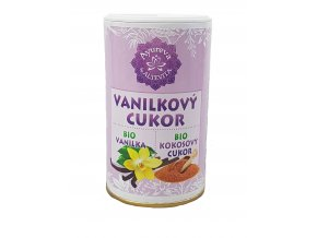 Bio kokosový cukr vanilkový - cukřenka 100g