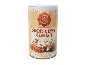 Bio kokosový cukr skořicový - cukřenka 100g