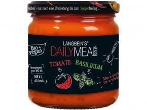 Bio polévka rajčatová s bazalkou 350ml