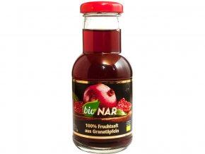 Bio šťáva z granátového jablka 100% 200ml