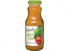 Přírodní ovocná šťáva, 100% jablko, 250 ml