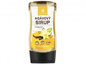 Bio Agávový sirup vanilka 350g