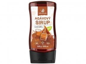 Bio Agávový sirup karamel 350g