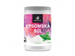 Epsomská sůl máta 1000g