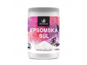 Epsomská sůl mateřídouška 1000g