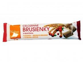 Brusinky celozrnné sušenky 65g