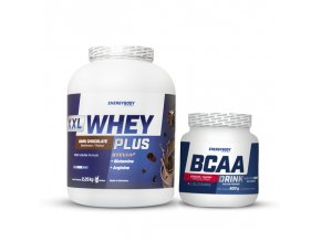 XXL Whey Plus Protein 2,25kg + BCAA Drink 500g