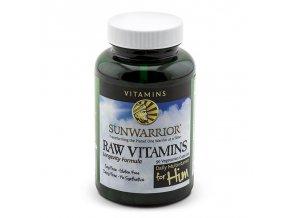 Raw Vitamins For Him 90 kapslí (Vitamíny pro muže)