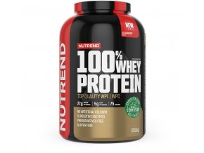 100% Whey Protein 2,25kg + BCAA Mega Strong 300g ZDARMA