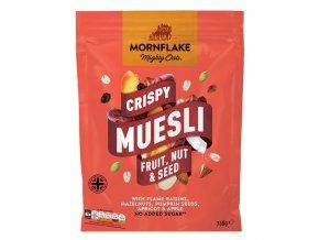 Crispy Muesli 750g ovoce, oříšky, semínka