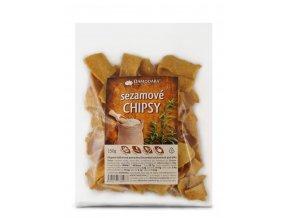 Sezamové chipsy150g