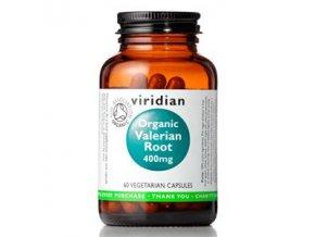 Valerian Root 400mg 60 kapslí Organic
