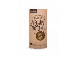Vegan Protein MIX BIO 400g kakao-čokoláda (hrách, rýže, dýně, slunečnice, konopí)