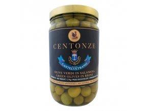 Green Olives in Brine (Olivy zelené) 1kg