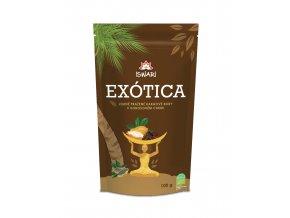 Bio Kakaové boby v kokosovém cukru 100g EXÓTICA