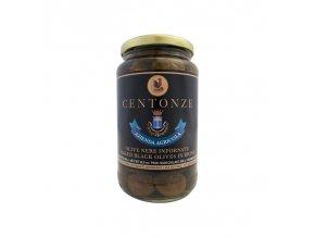 Baked Black Olives in Brine (Olivy Černé) 340g