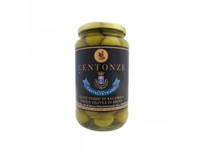 Green Olives in Brine (Olivy zelené) 340g