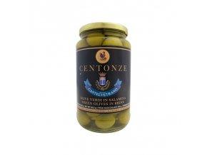 Green Olives in Brine (Olivy zelené) 340g