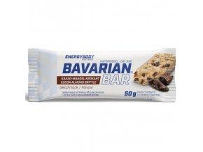 Tyčinka Bavarian Bar 50g kakao-mandlové kousky