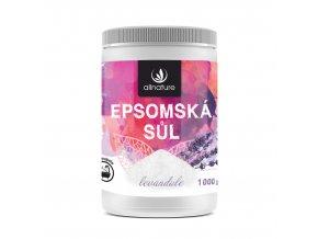 Epsomská sůl levandule 1000g