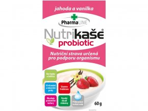 Nutrikaše probiotic s jahodami a vanilkou 60g