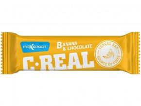 C-REAL banán čokoláda 40g