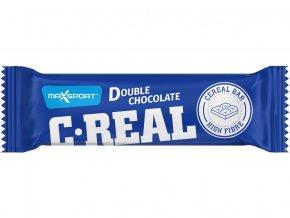 C-REAL dvojitá čokoláda 40g