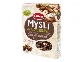 Mysli čokoláda a ořechy 375g