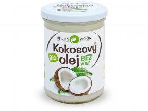 Bio Kokosový olej bez vůně 400 ml
