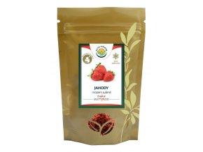 Jahody mleté sušené mrazem - lyofilizované 50 g