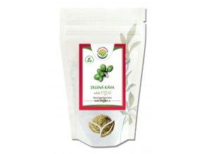 Zelená káva mletá CGA