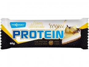 Tyčinka proteinová Royal protein delight lemon cheesecake + 15% zdarma 60g
