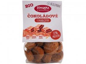 Bio čokoládové hrudky s čer. čočkou bezlepkové 100g