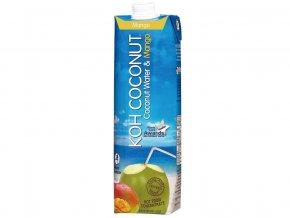 Koh coconut 100% kokosová voda s příchutí manga 1l