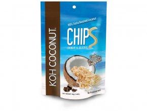 Kokosové chipsy čokoládové 40g