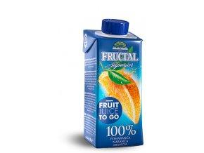 Fructal superior pomeranč 100% 200ml