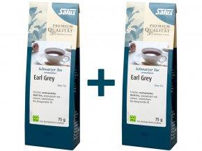 Bio Earl Grey aromatizovaný černý čaj - s přírodním Bergamotem - sypaný 75 g, 1+1 ZDARMA, min.trv. 30.9.2018