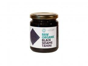 Bio Tahini pasta z černého sezamového semínka raw 250g