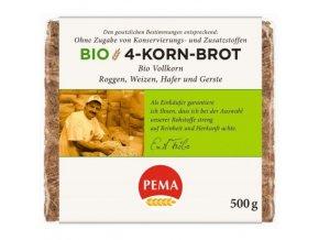 bio zitny chleb se lnenym seminkem 500 g pema