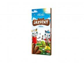 Čokoládové jazýčky mléčné 50g