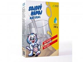 Sojovy napoj natural asp 200g
