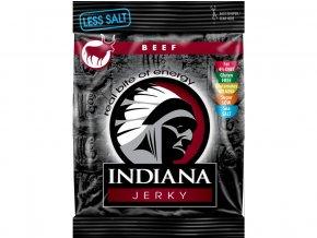 Indiana Jerky Hovězí Less Salt 25g