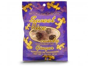 Sweet rice candies - zázvor 11ks bonbonů